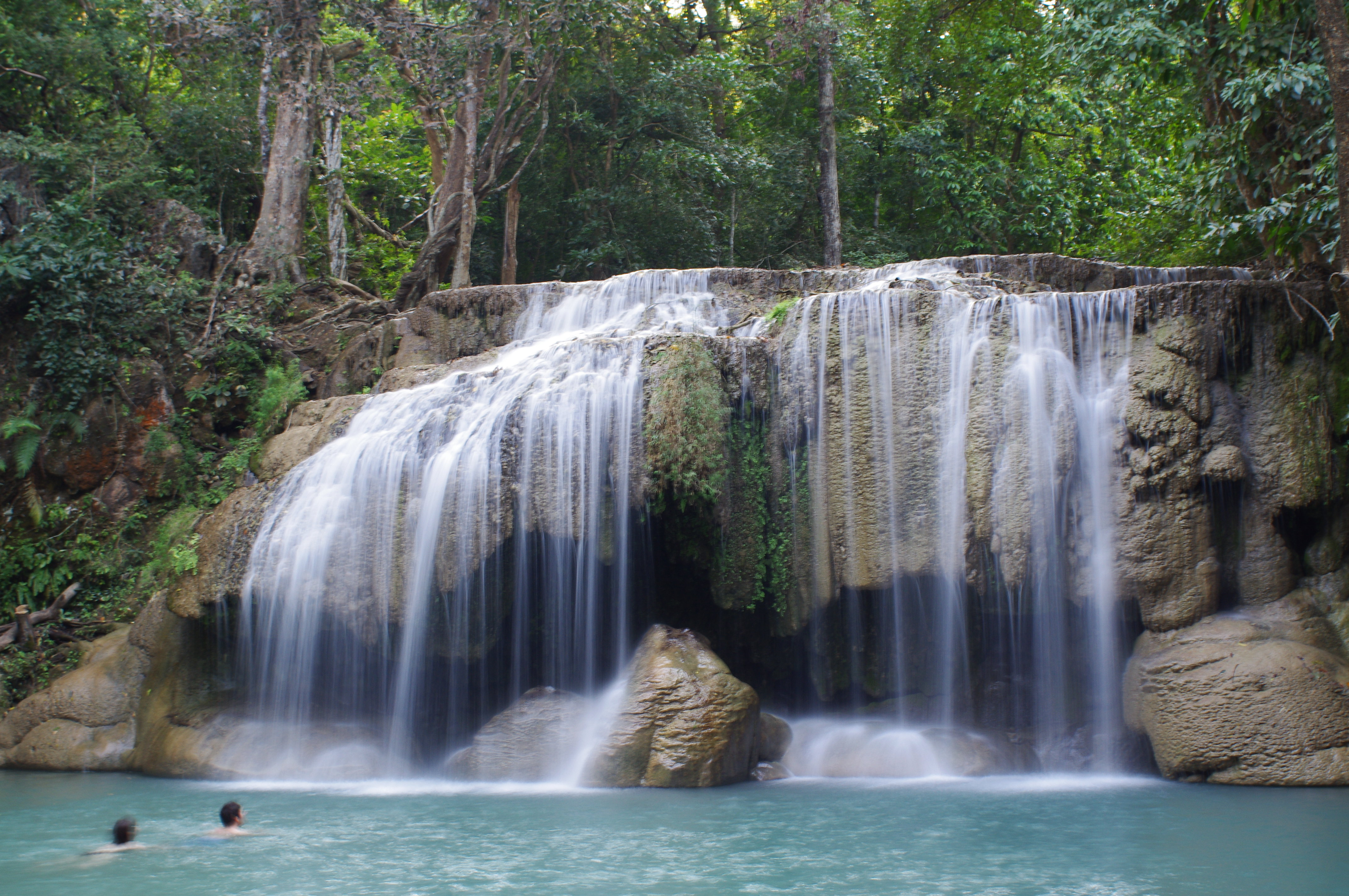 Erawan Falls  The World Is Not That Big